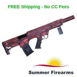 Black Aces Tactical Pro Series Bullpup Semi-Auto Shotgun 12ga Distressed Red