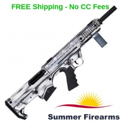 Black Aces Tactical Pro Series Bullpup Semi-Auto Shotgun 12ga Distressed White